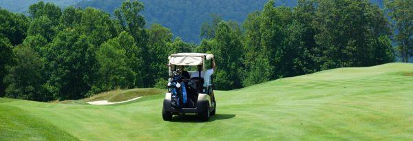 Golf cart - golf tournament